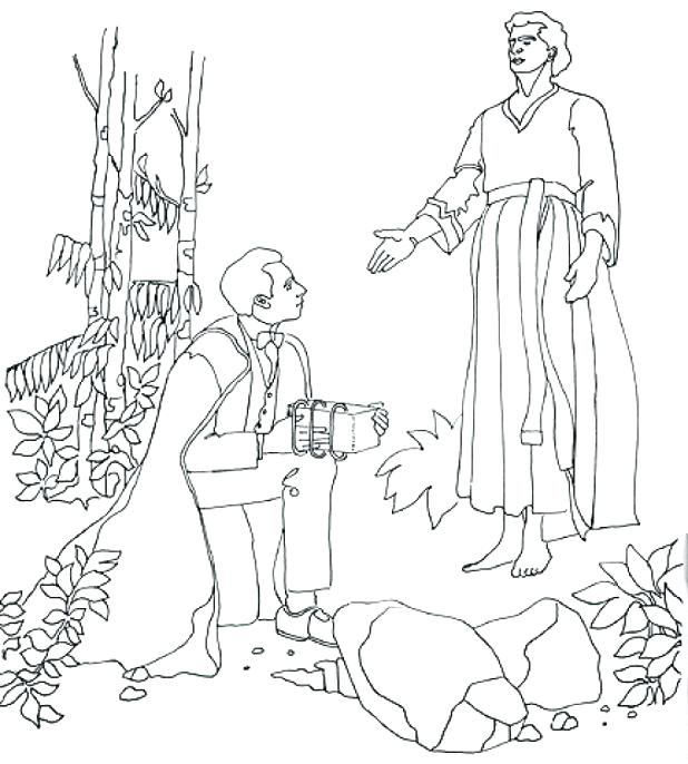 618x686 Mary Martha Coloring Page Also Smith Coloring Pages Free