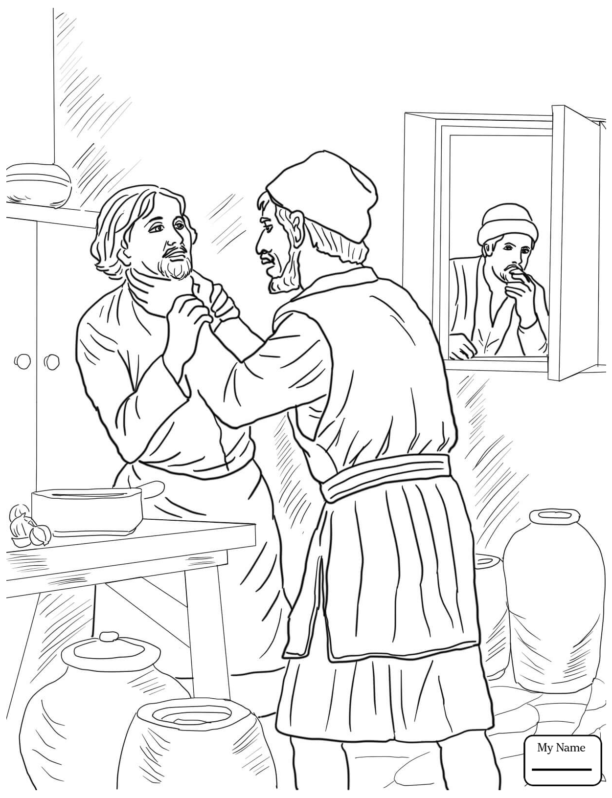 1251x1632 Coloring Pages For Kids Christianity Bible Jesus Parables Lazarus