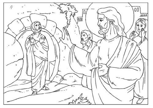 500x354 Inspiring Lazarus Coloring Page 11 About Remodel Coloring Pages