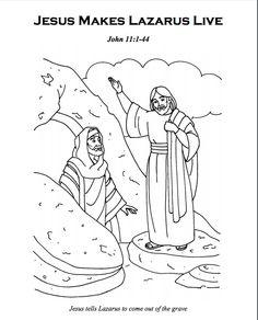 236x292 Jesus Raises Lazarus
