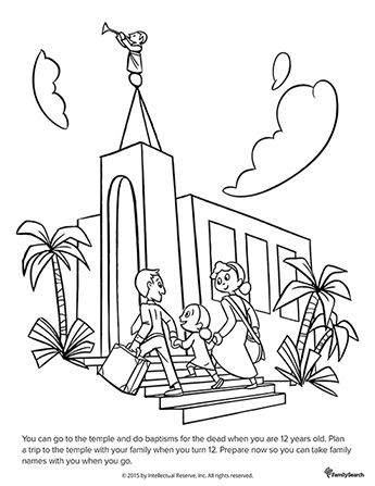 Lds Temple Drawing