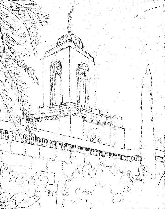 571x720 Newport Beach California Lds Temple