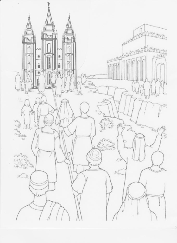 Lds temple drawing at free for personal for 12 year old jesus in the temple coloring page