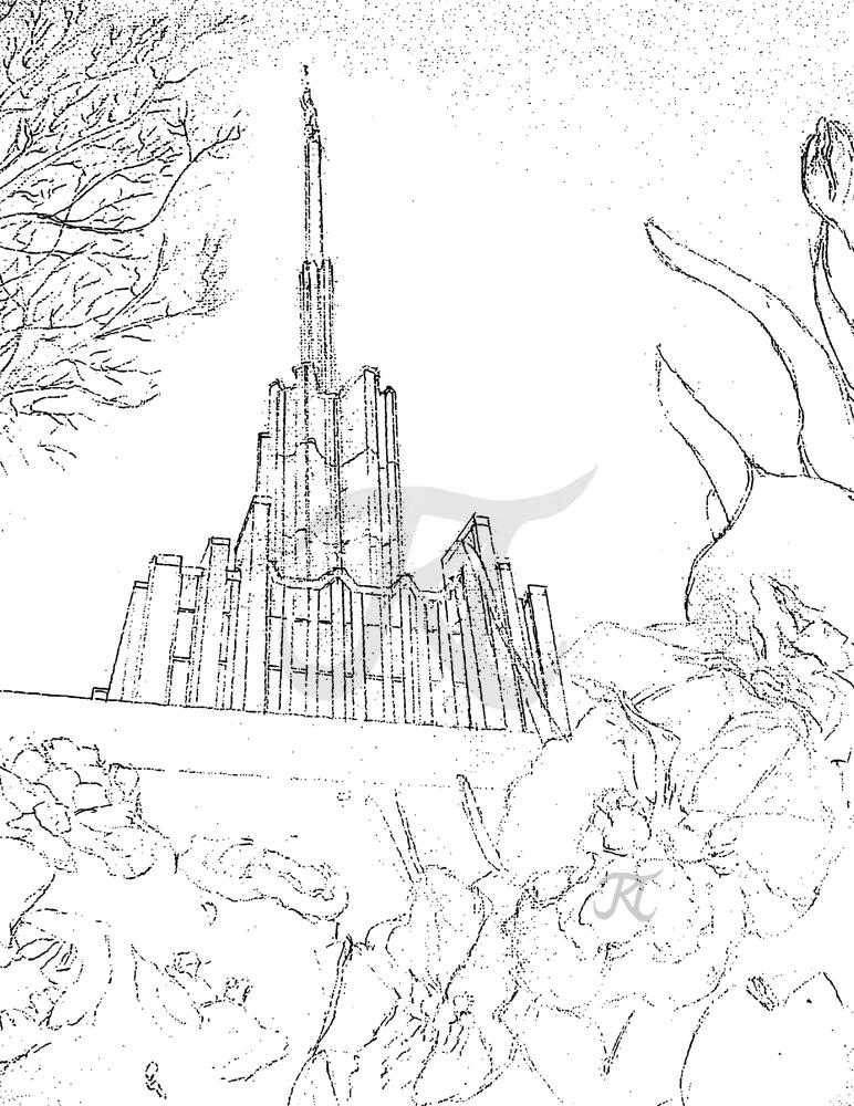 Excepcional Lds Iglesia Para Colorear Composición - Dibujos Para ...