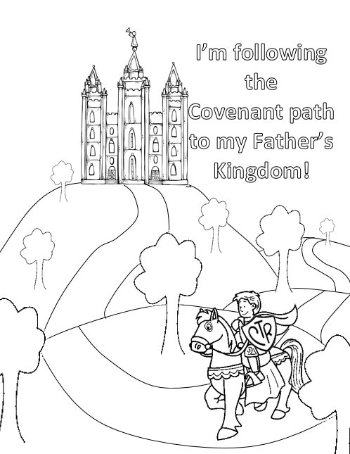 498x645 Boy Coloring Page Lds Temple Armor King Ctr Castle ~i Got