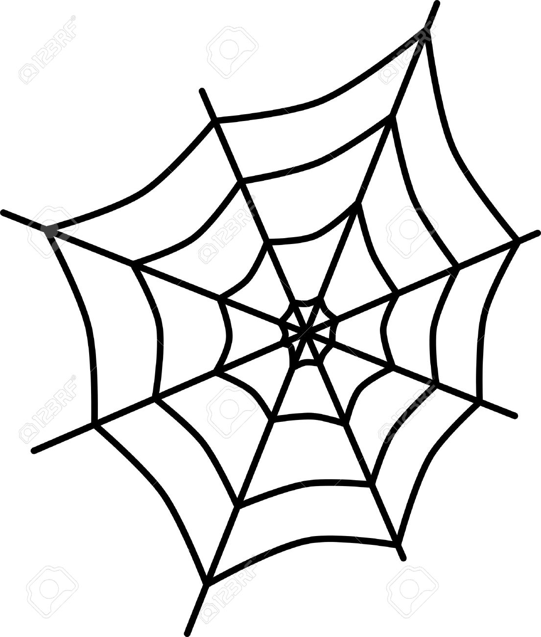 1105x1300 Spider Web Cartoon Drawing Spider Web Cartoon Stock Photos Images