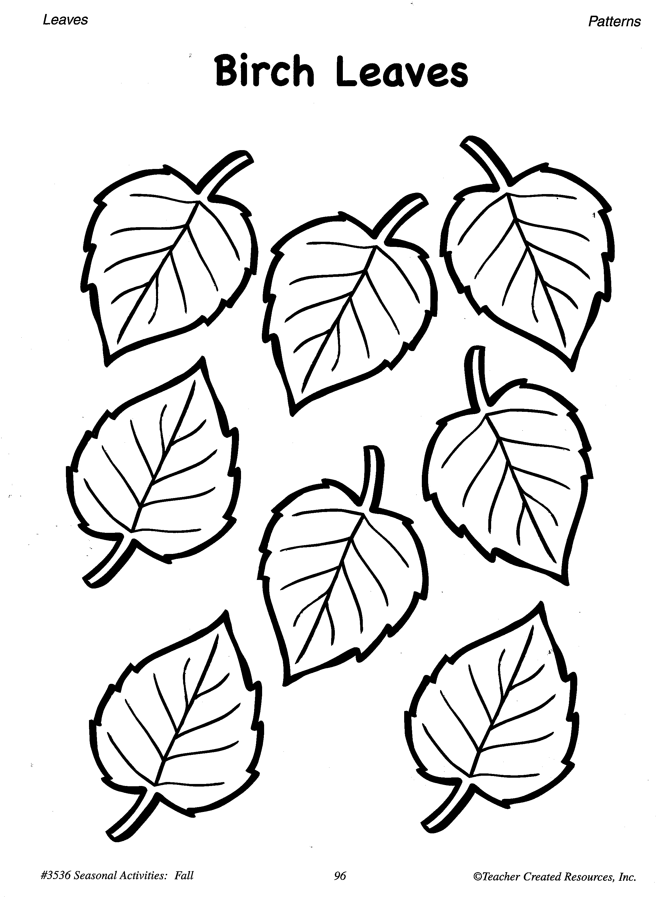 2300x3143 Printable Small Maple Leaf Pattern. Use The Pattern For Crafts