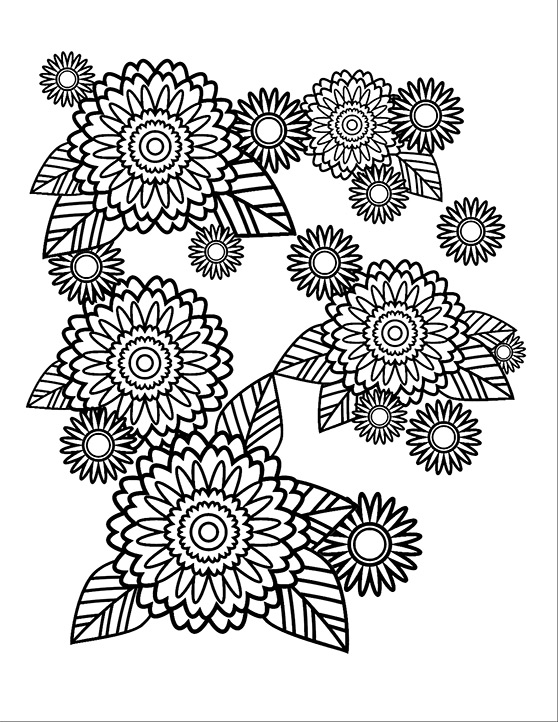 558x722 How To Create A Stress Relief Coloring Book Page In Adobe Illustrator