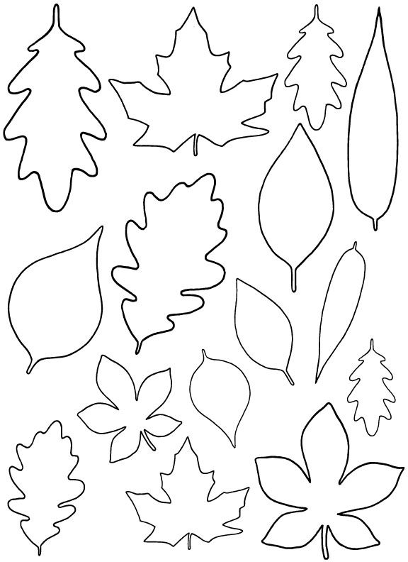 576x792 Recycled Sweater Fall Garland Paper Leaves, Diy Paper And Template