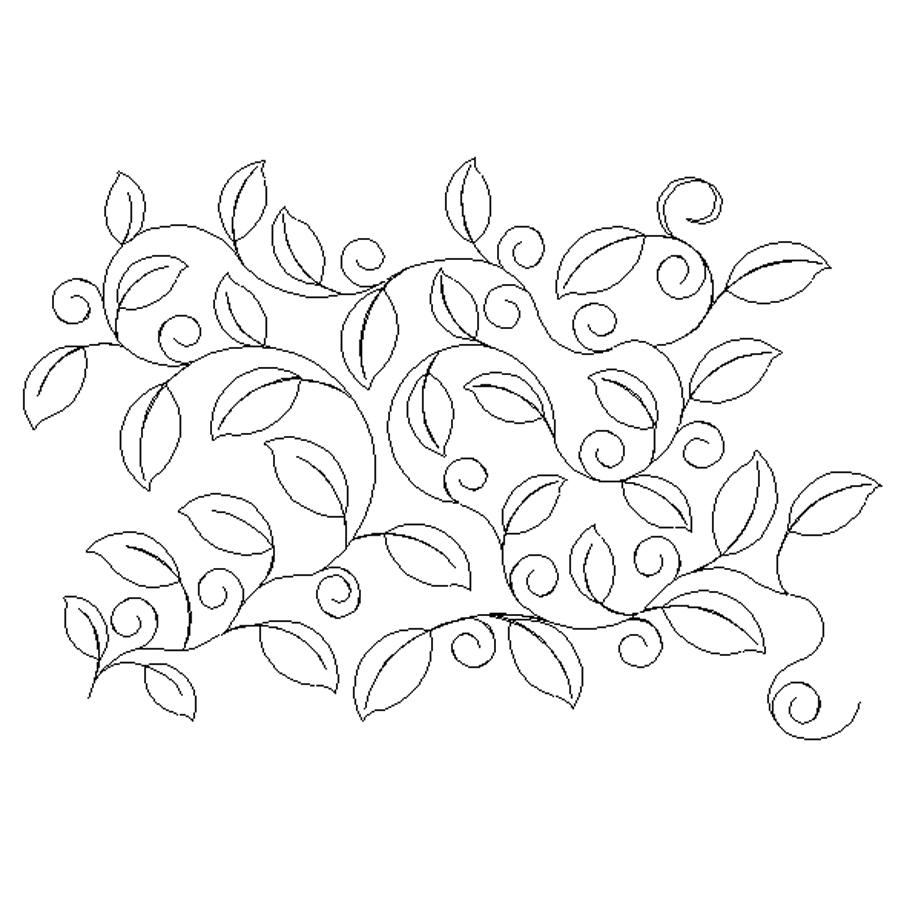 Leaf Vine Drawing