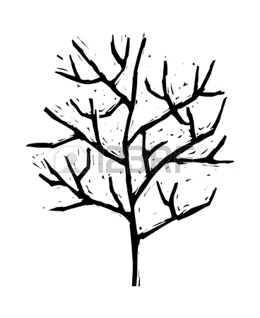 368x450 1,016 Leafless Tree Stock Vector Illustration And Royalty Free