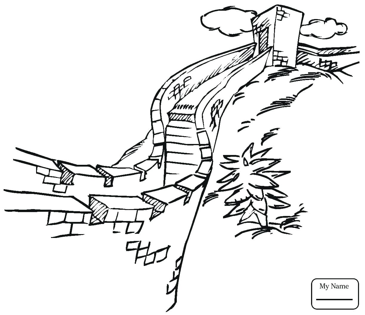 1224x1059 Coloring Leaning Tower Of Pisa Coloring Page Pages Sightseeing