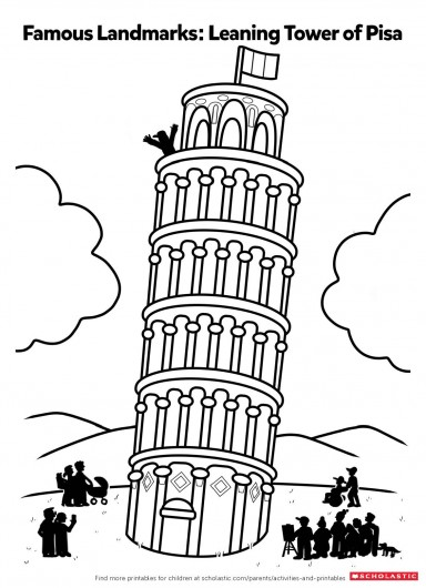384x530 Color In The Leaning Tower Of Pisa Parents