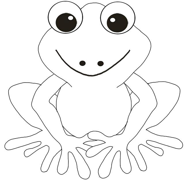 650x646 Frog Coloring Pages Free Frog Coloring Page Download Leap Frog