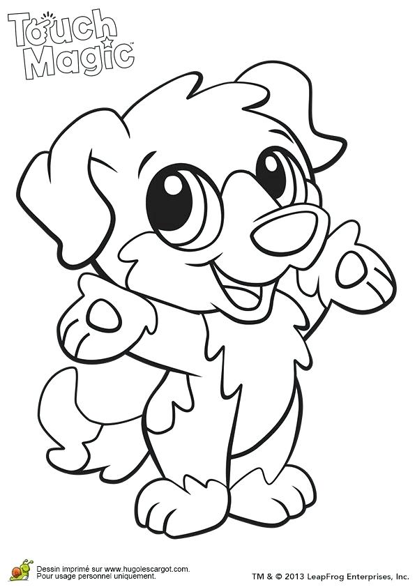 595x842 Coloring Pages Of Cute Baby Animals Learning Friends Dog