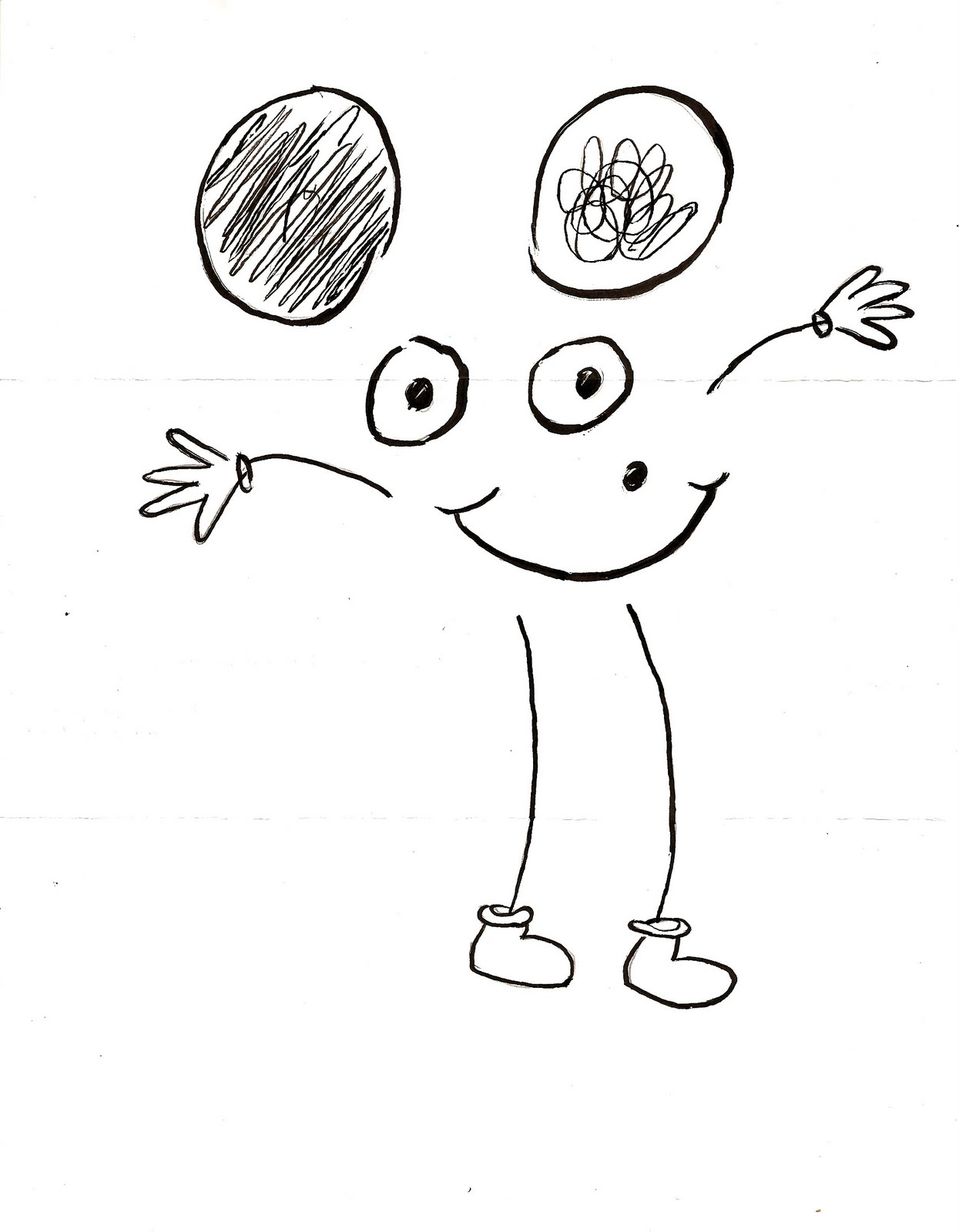 1245x1600 Christopher Young Learning How To Draw Mickey Mouse