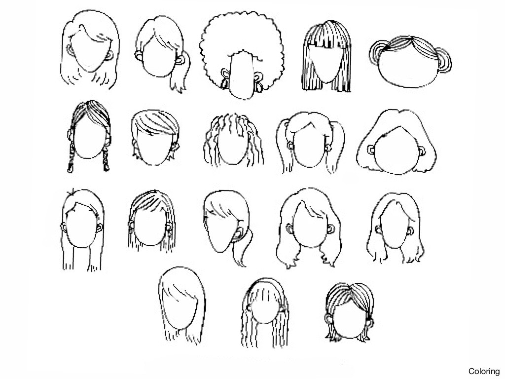 1024x768 Easy To Draw Anime Girl Step By Drawing Faces For Beginners How