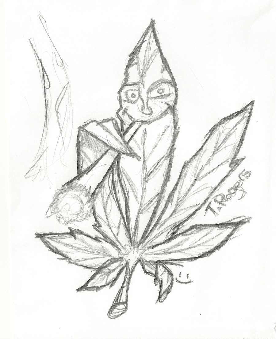 900x1103 Pictures Best Weed Leaf Pencil Drawings,