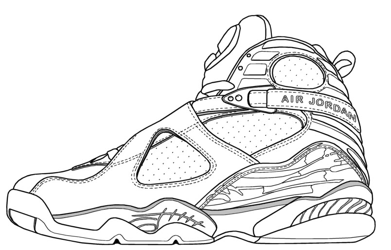 Lebron 11 Drawing