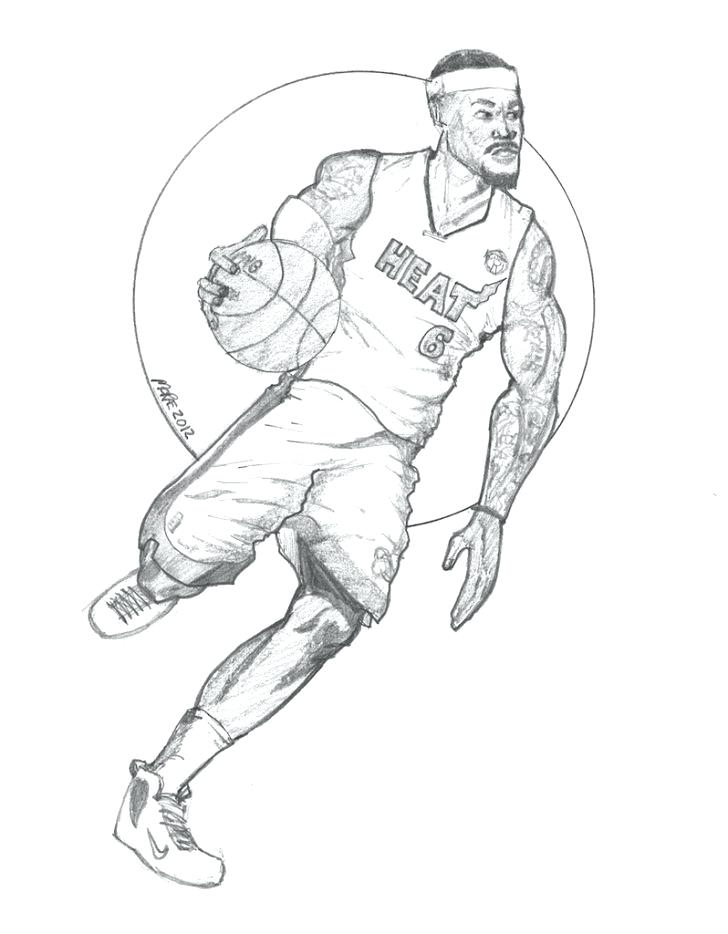 728x934 Lebron James Coloring Pages Coloring Pages Free Lebron James