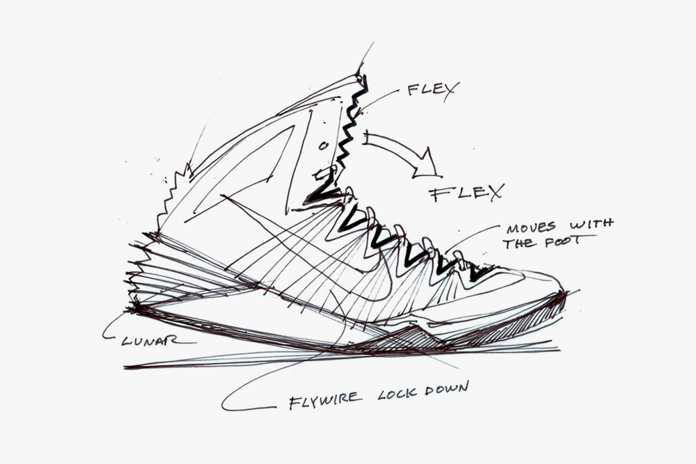 1000x667 Nike Design Sketches Of Hyperdunk 2013 Nike Design