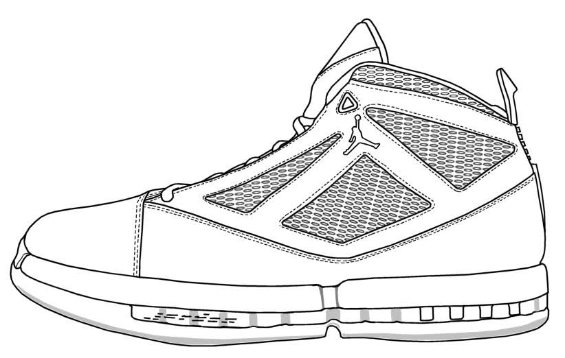 822x522 Sneaker Templates