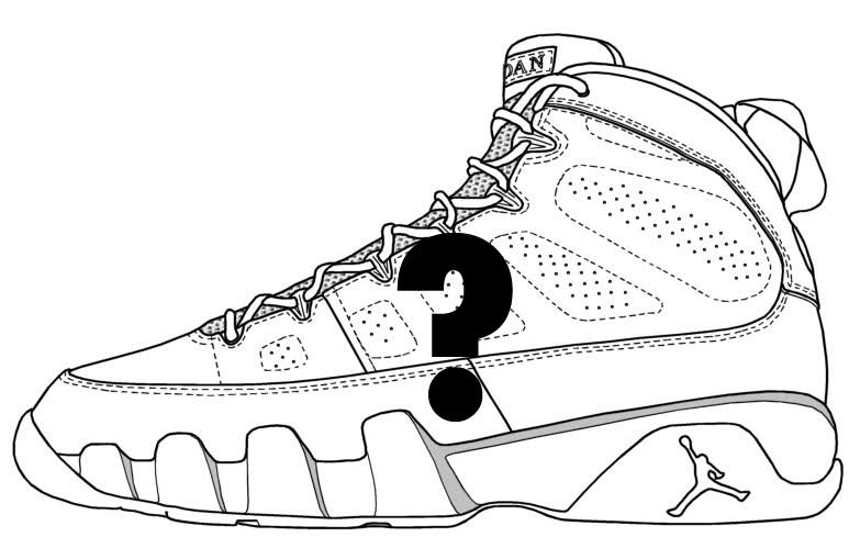 783x489 Jordan 9 Drawing