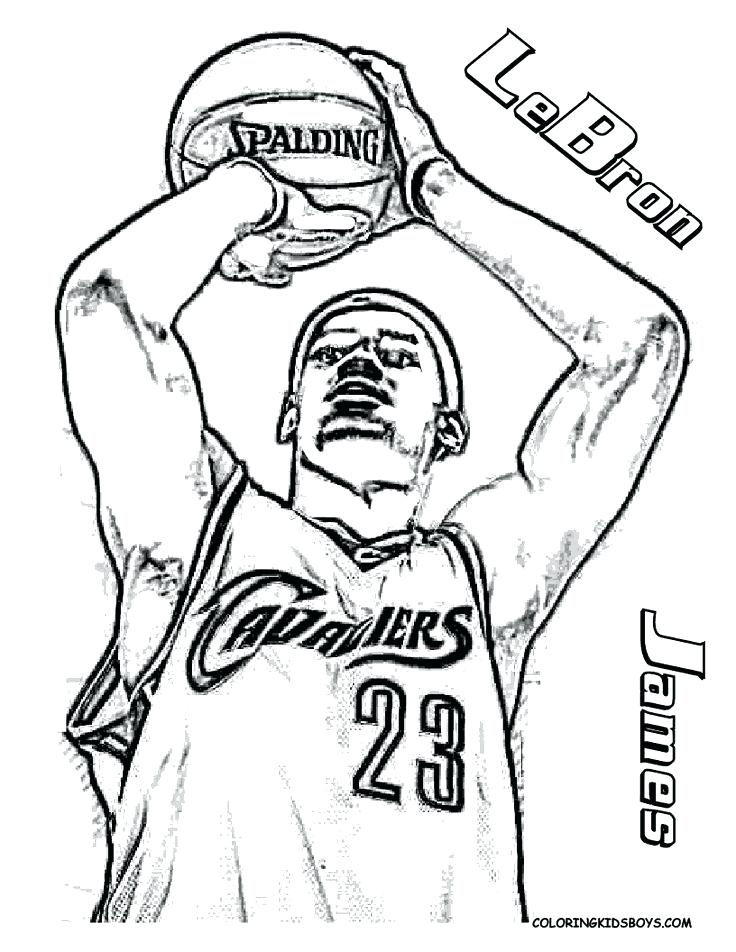 736x952 Lebron Coloring Pages