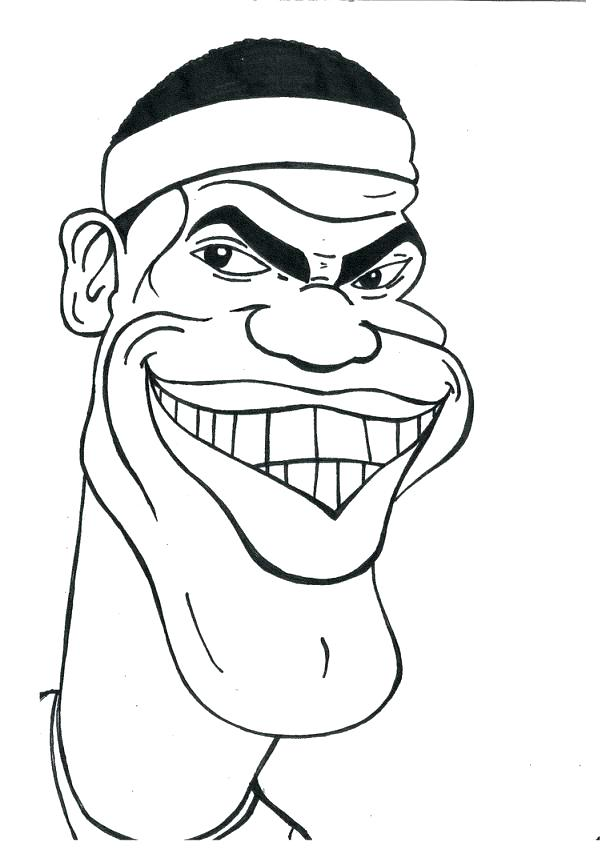 602x850 Lebron Coloring Pages Free Coloring Pages Of Logo Lebron James