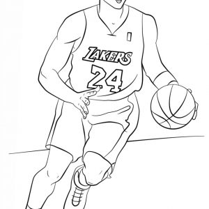 300x300 Nba Coloring Pages Of Lebron James Fresh James Coloring Pages