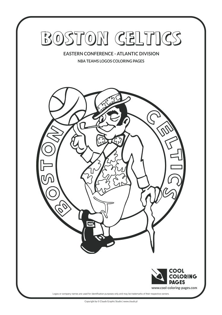 736x1040 Coloring Pages Nba Hawks Logo Sport Coloring Pages Nba Coloring