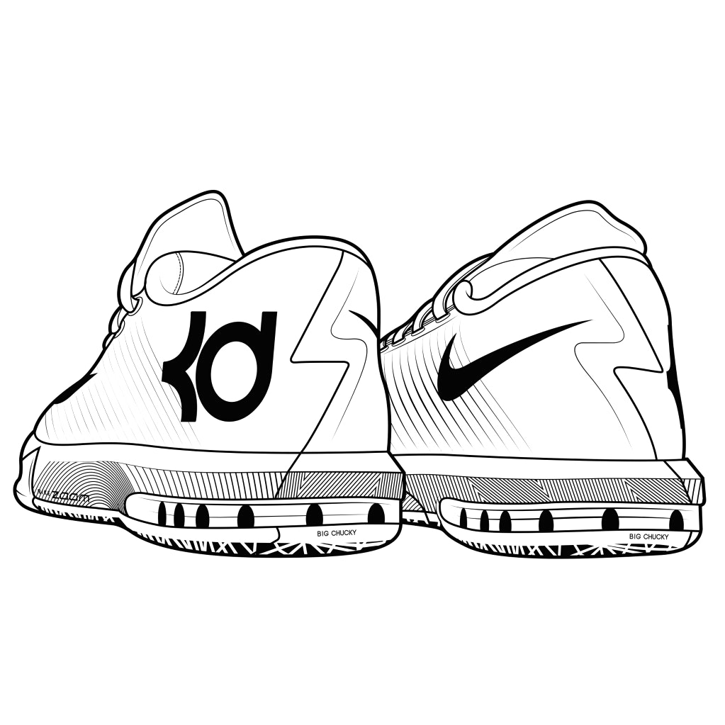1023x1023 Lebron James Coloring Page In Kevin Durant Pages
