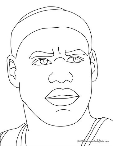 364x470 Lebron James Coloring Pages
