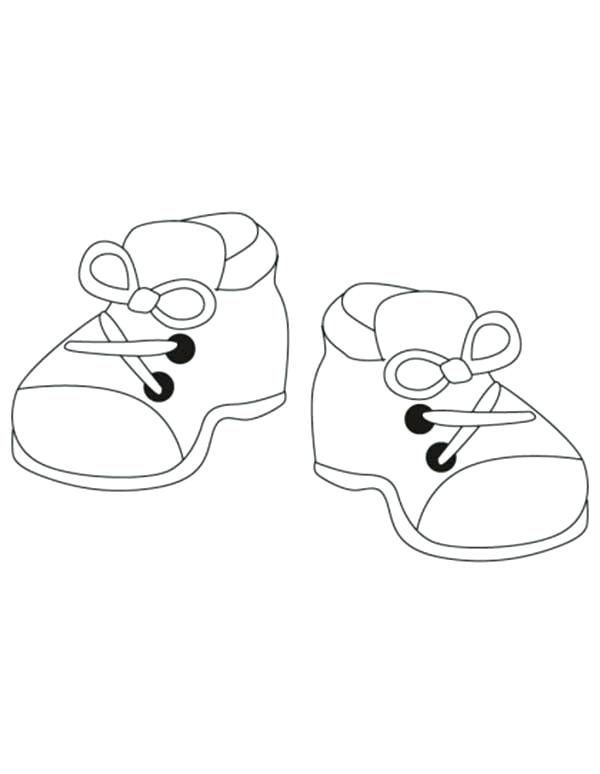 600x774 Shoes Coloring Page Coloring Pages Shoes Coloring Page Shoes
