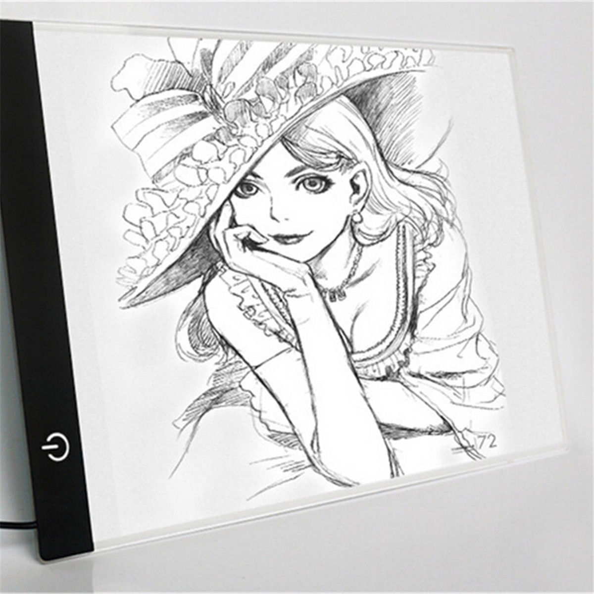 1200x1200 Graphic Drawing Tablet Led Graphic Tablet For Drawing 2.2w 2d