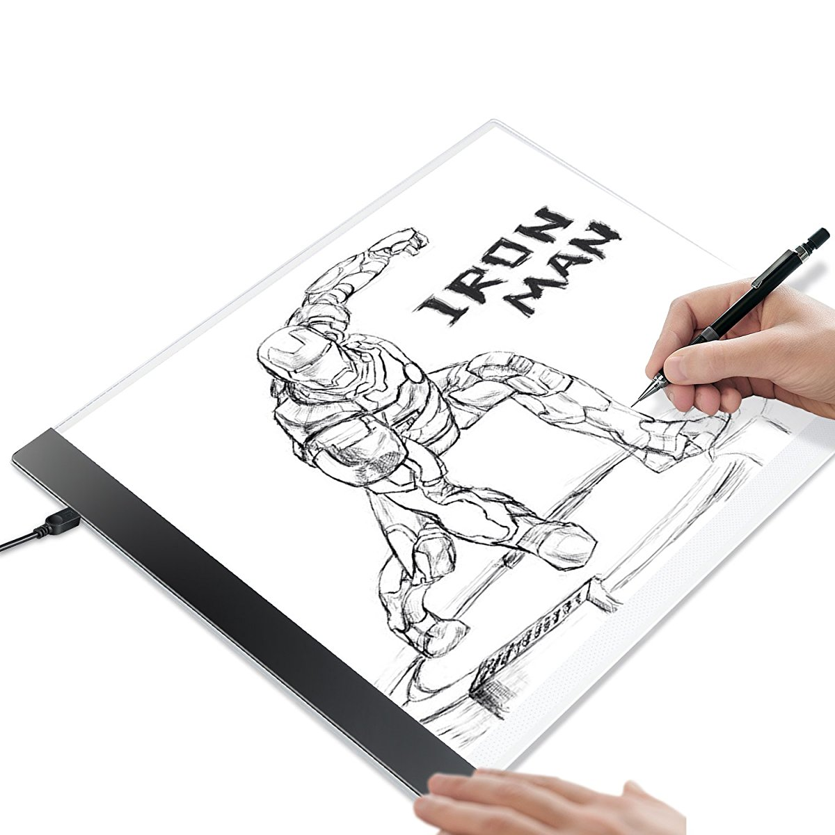 1200x1200 Tracing Light Box Tracer Portable Artists Drawing Board Copyboard