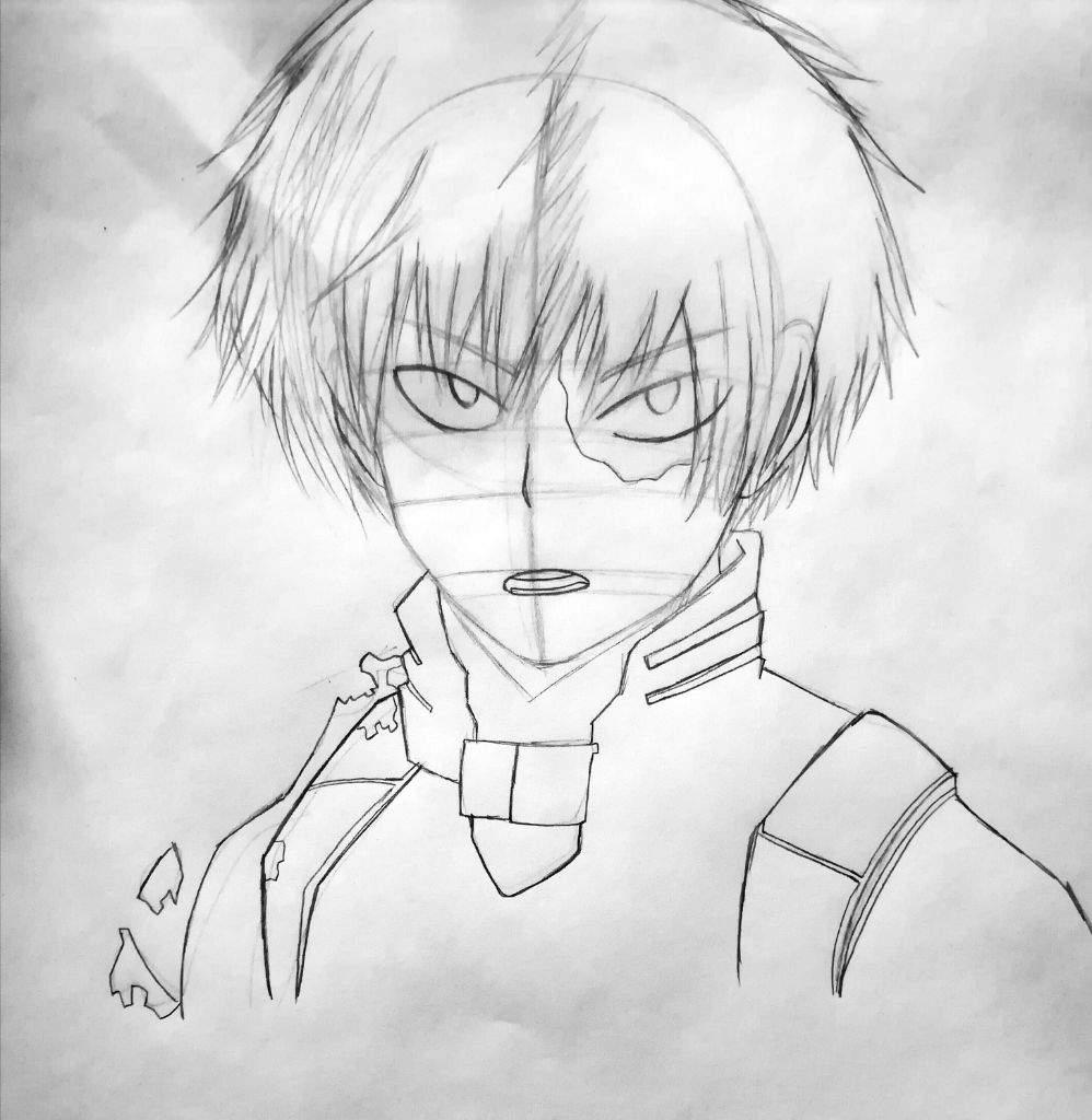 998x1024 Todoroki Shouto Drawing Tutorial Anime Amino