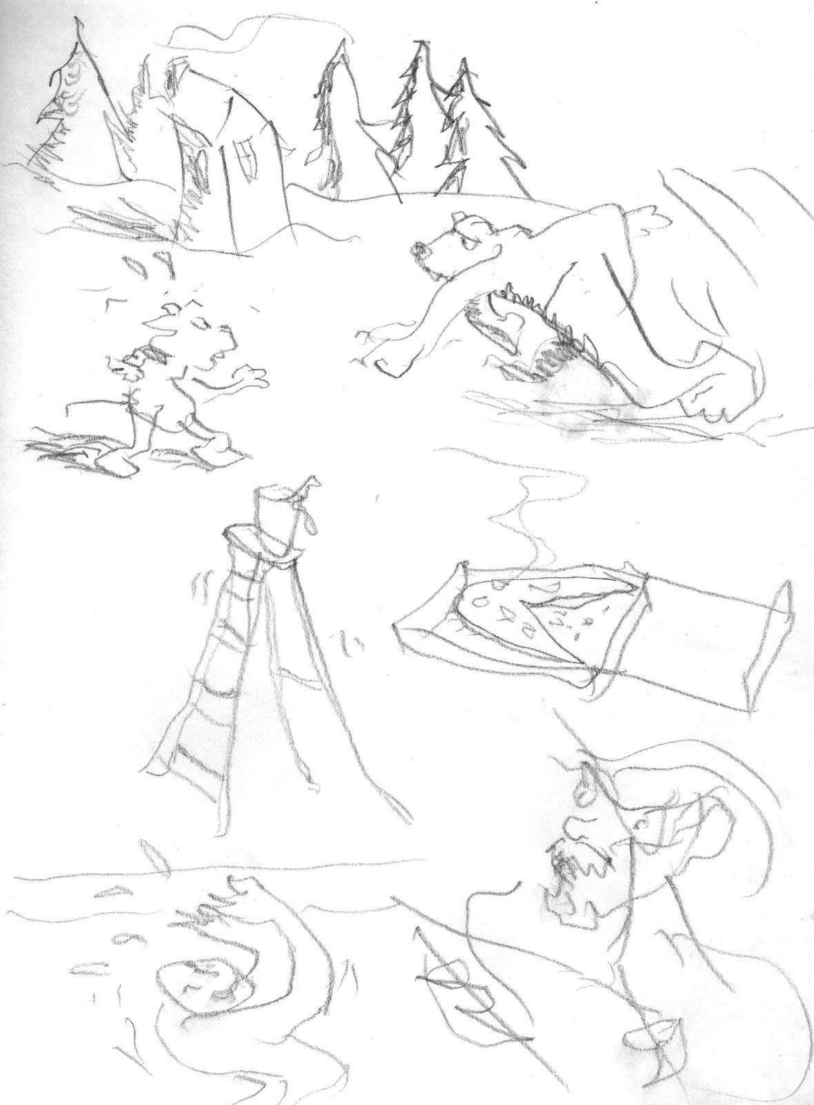 1180x1600 Left Handed Scribbles Steve Richter Art