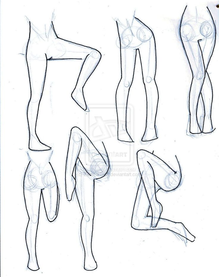 Leg Drawing at GetDrawings.com | Free for personal use Leg Drawing ...