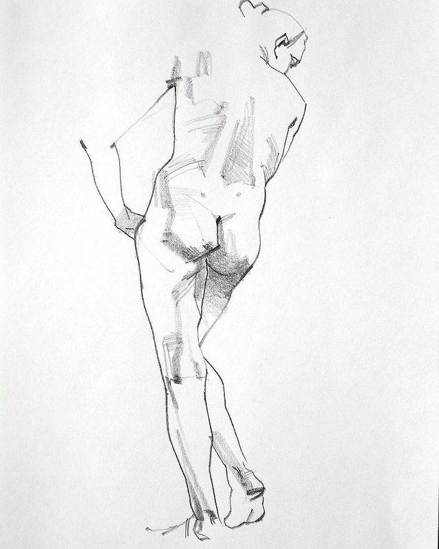 Leg Cast Drawing