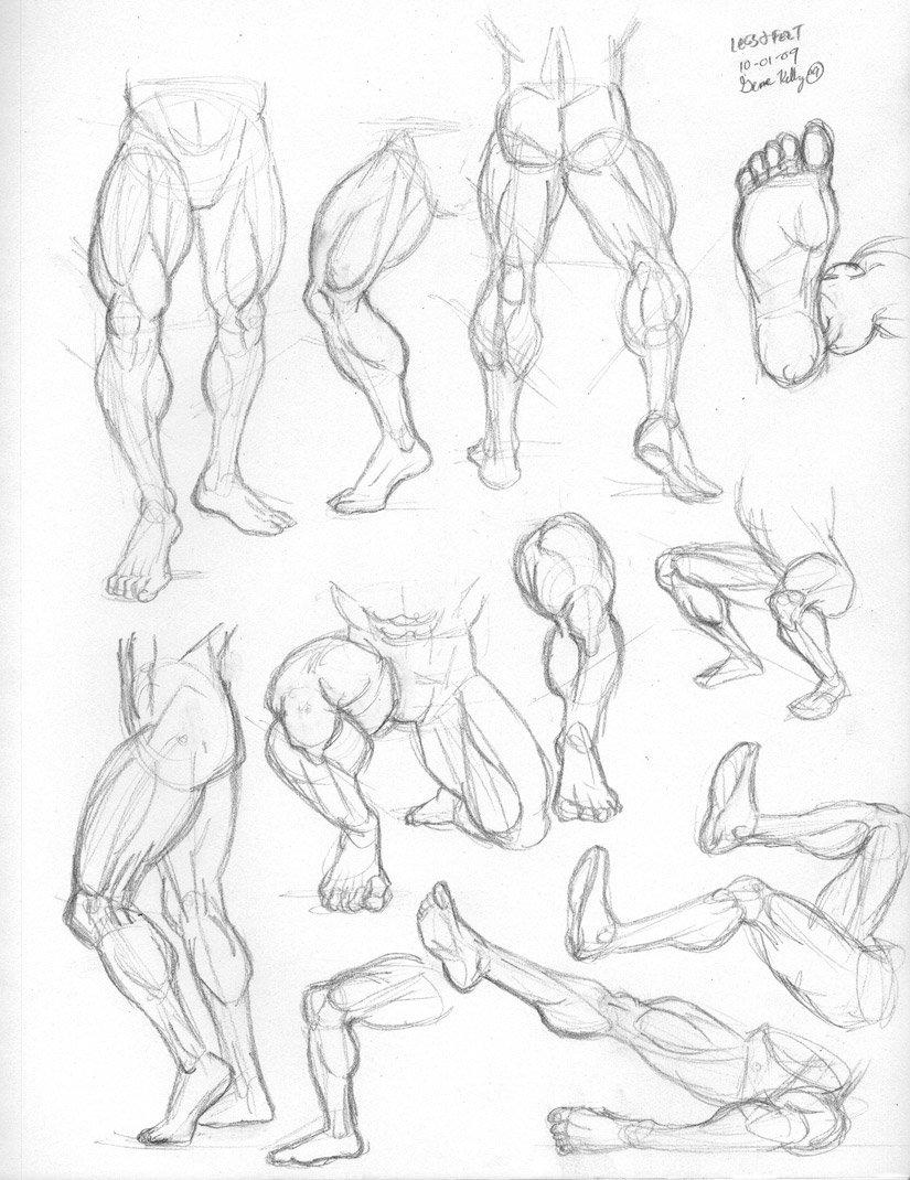 825x1070 Thurs 4 Legs, Feet By Genekelly