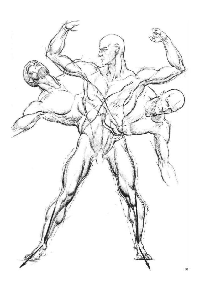 638x903 Burne Hogarth Dynamic Figure Drawing