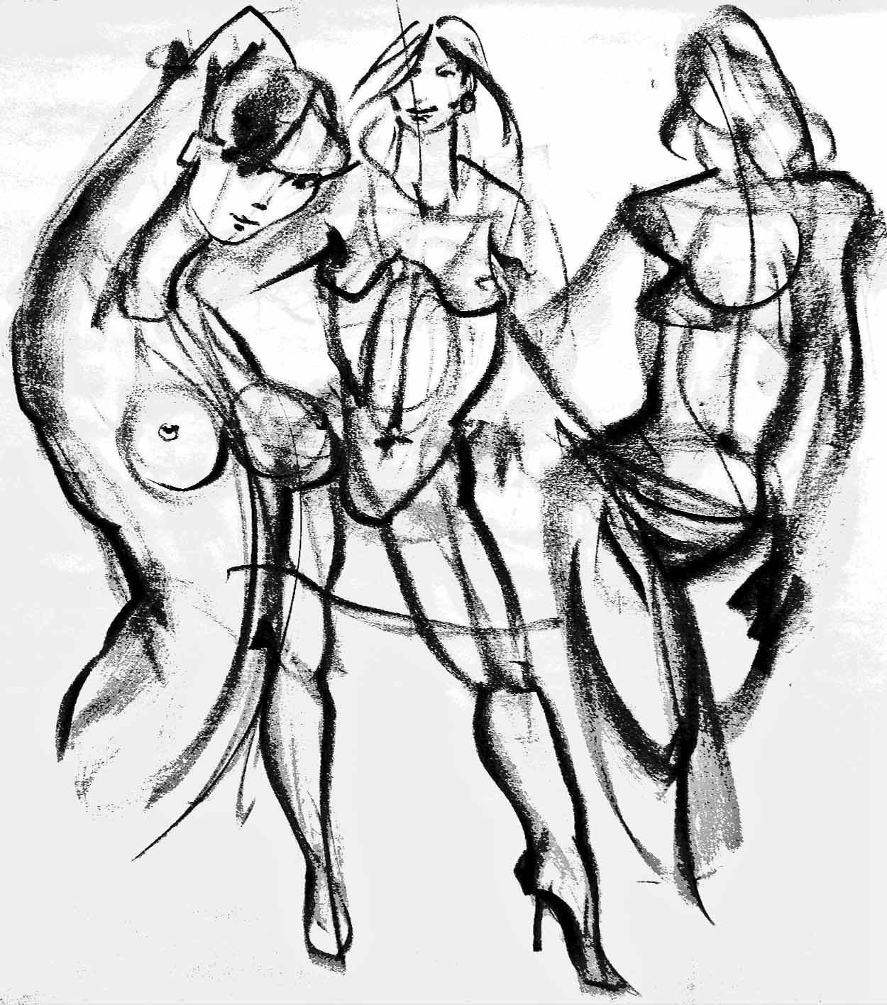 1250x1416 Emily Carr Life Drawing Tony O'Regan
