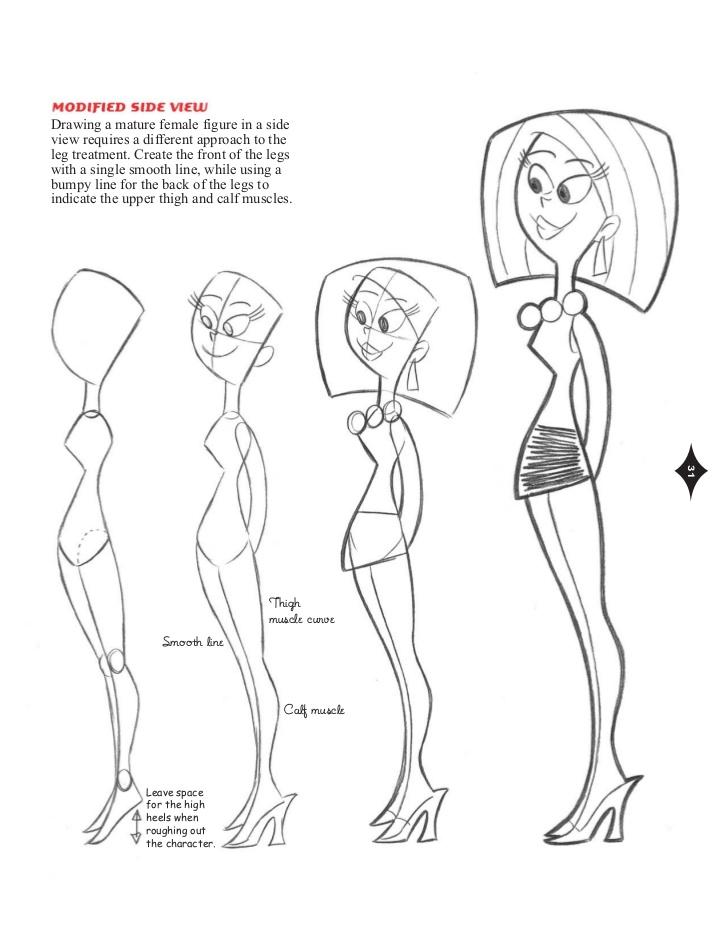 728x943 Watson Guptill.cartoon.cool.how.to.draw.new.retro Style.characters