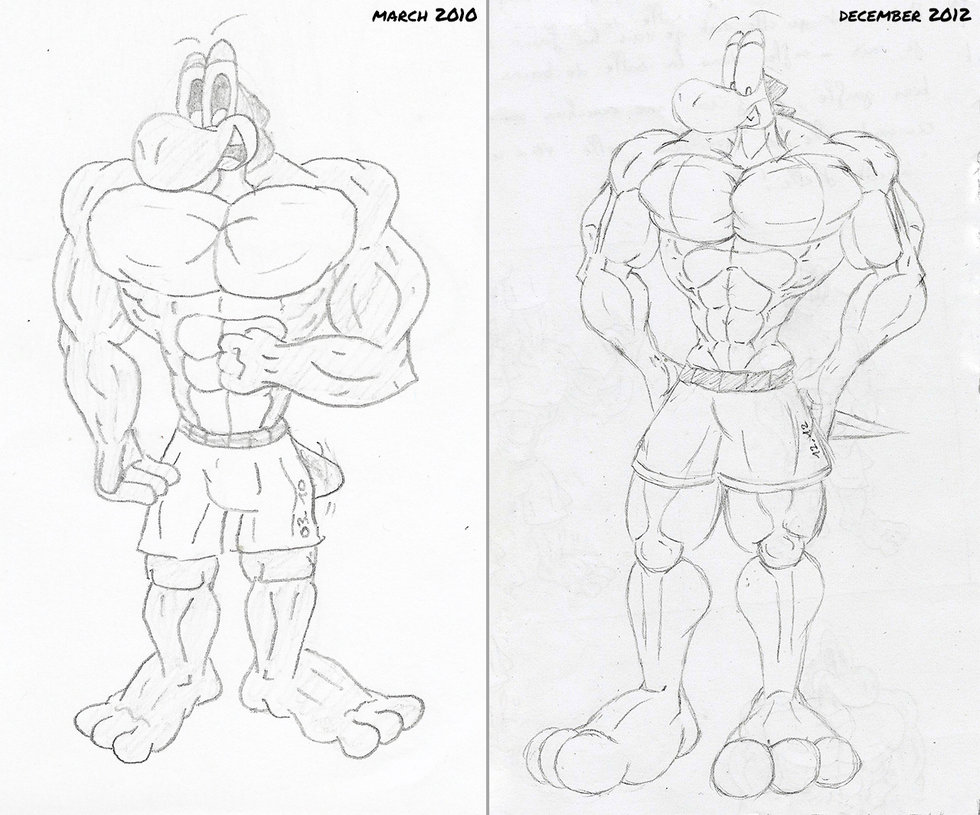 980x815 Comparison] Muscle Anatomy (2010 2012) By Mctaylis