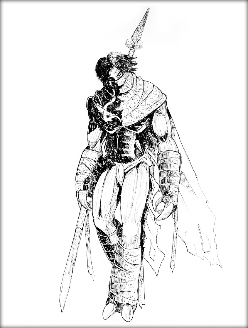 845x1119 Legacy Of Kain A Hero's Silent Resolve