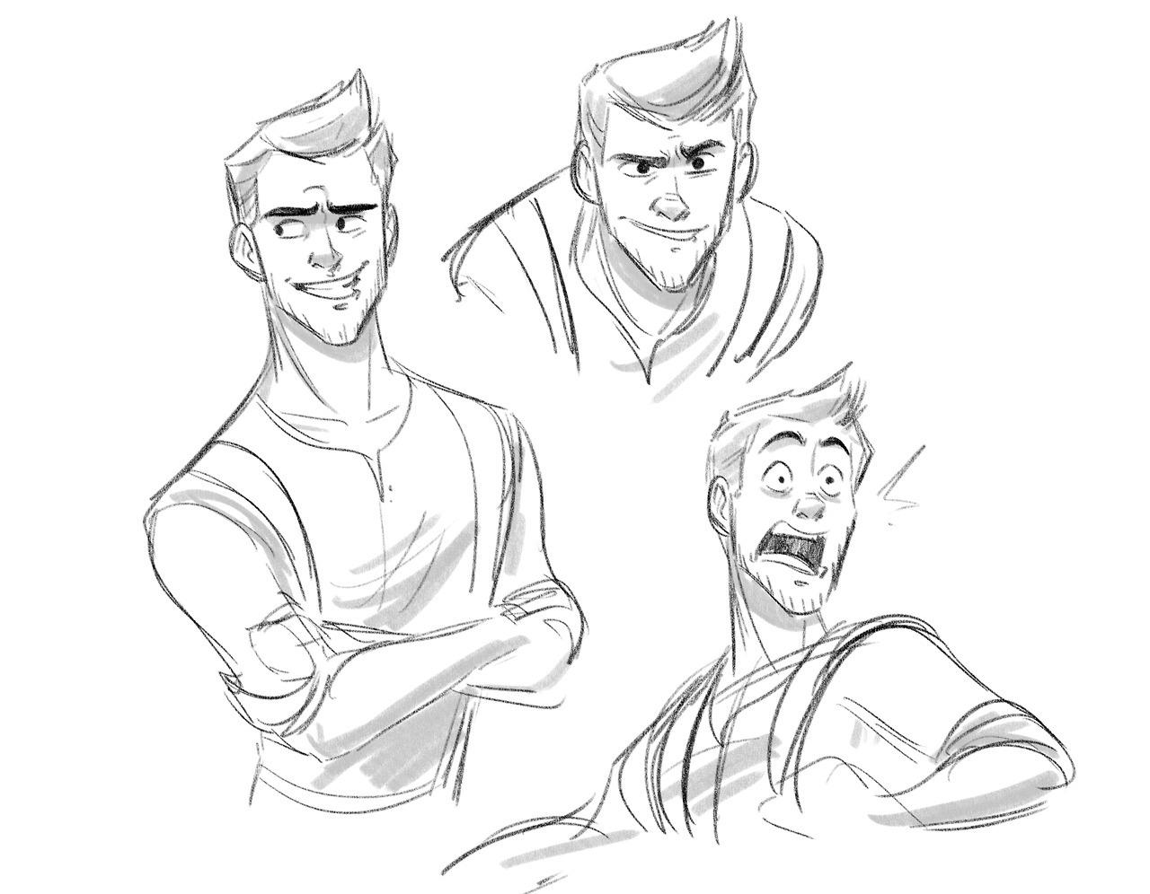 1280x996 Sketchupnfries Morning Sketches Of Nathan Drake Since I'M Super