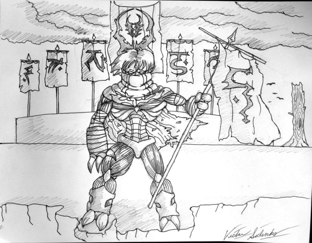 1011x790 Legacy Of Kain Soul Reaver (Original Drawing) By Vicsidenko