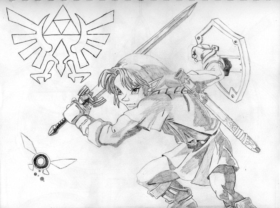 900x667 Link Of The Legend Of Zelda By Sonofbaldo