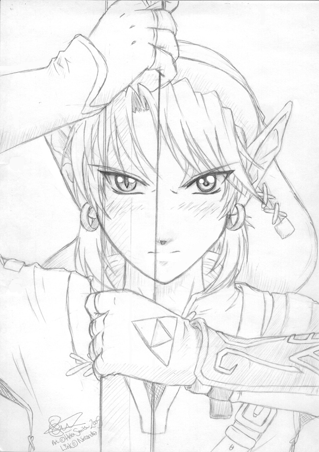 652x923 Princess Zelda Drawing Zelda Twilight Princess By Tigerangel